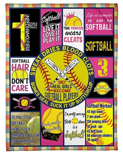 Softball Funny Live Love Play Graphic Design