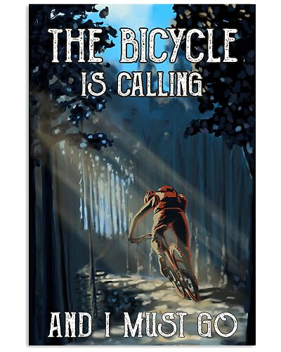 Cycling I Must Go Poster