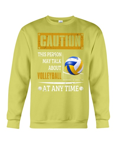 this person may talk about volleyball