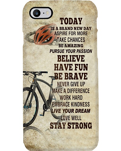 Cycle Brand New Day Phone Case