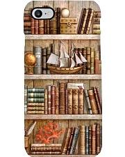 Bookshelf Vintage Bookshelf Phone Case thumbnail