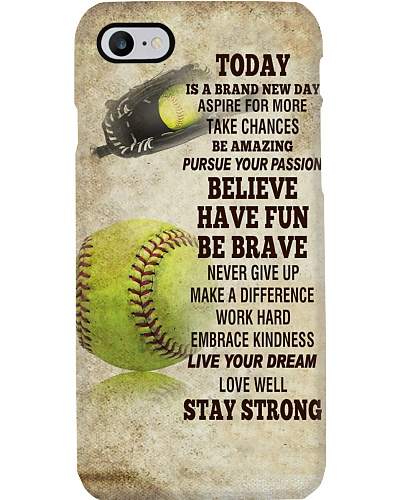 Softball Today Is A Brand New Day