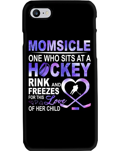Momsicle One Who Sits At A Hockey Rink