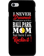 I'M A BALLPARK MOM Phone Case thumbnail