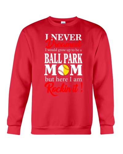 I'M A BALLPARK MOM