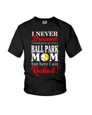 I'M A BALLPARK MOM Youth T-Shirt thumbnail