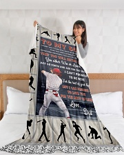 "Baseball Funny You Will Never Lose Graphic Design Large Fleece Blanket - 60"" x 80"" aos-coral-fleece-blanket-60x80-lifestyle-front-11"