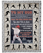 "Baseball Funny You Will Never Lose Graphic Design Large Fleece Blanket - 60"" x 80"" front"