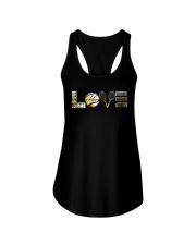 Tennis Sunflower Love Ladies Flowy Tank thumbnail
