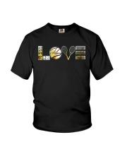 Tennis Sunflower Love Youth T-Shirt thumbnail