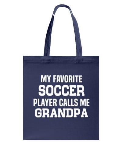 My Favorite Soccer Player Calls Me Grandpa