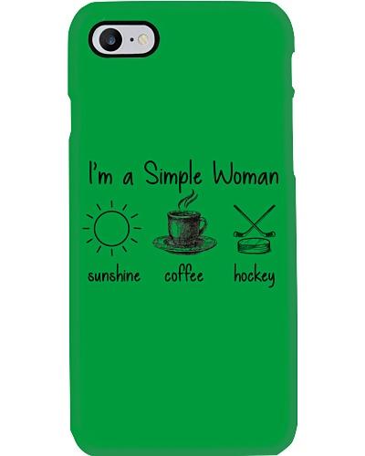 I Am Simple Woman Hockey