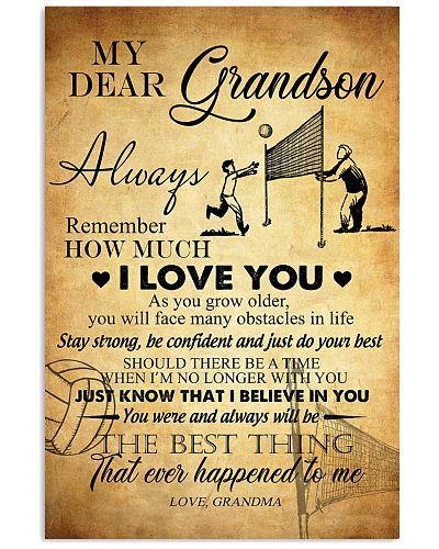 Volleyball Dear My Grandson