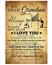 Volleyball Dear My Grandson 11x17 Poster front