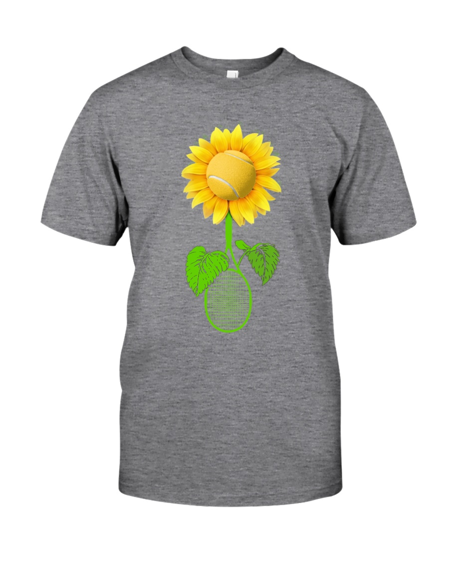 Tennis Sunflower Classic T-Shirt