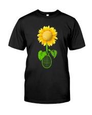 Tennis Sunflower Classic T-Shirt thumbnail
