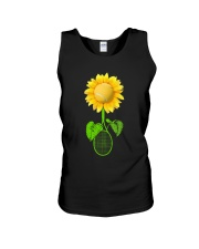 Tennis Sunflower Unisex Tank thumbnail