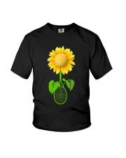 Tennis Sunflower Youth T-Shirt thumbnail