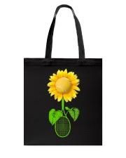 Tennis Sunflower Tote Bag thumbnail