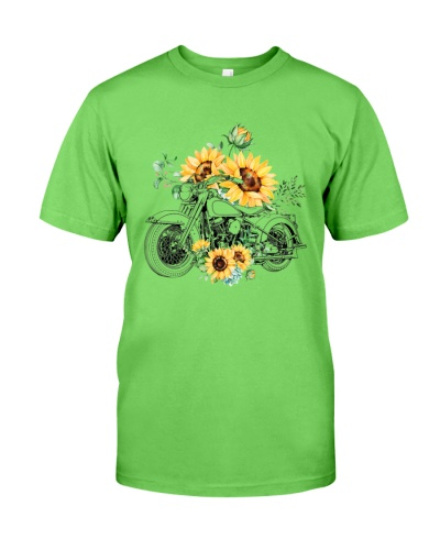 Motorcycle Sunflower