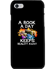 A book A day keeps reality away Phone Case thumbnail