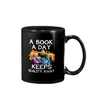 A book A day keeps reality away Mug thumbnail