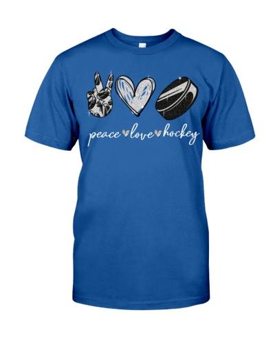 Hockey Peace Love