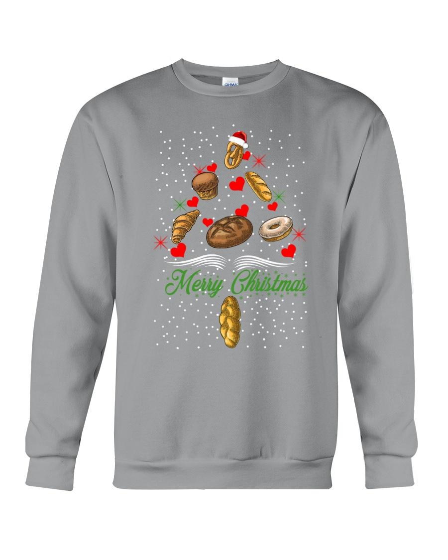 Bakery Tree Christmas Crewneck Sweatshirt