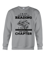I Can Quit As Soon As I Finish One More Chapter Crewneck Sweatshirt thumbnail