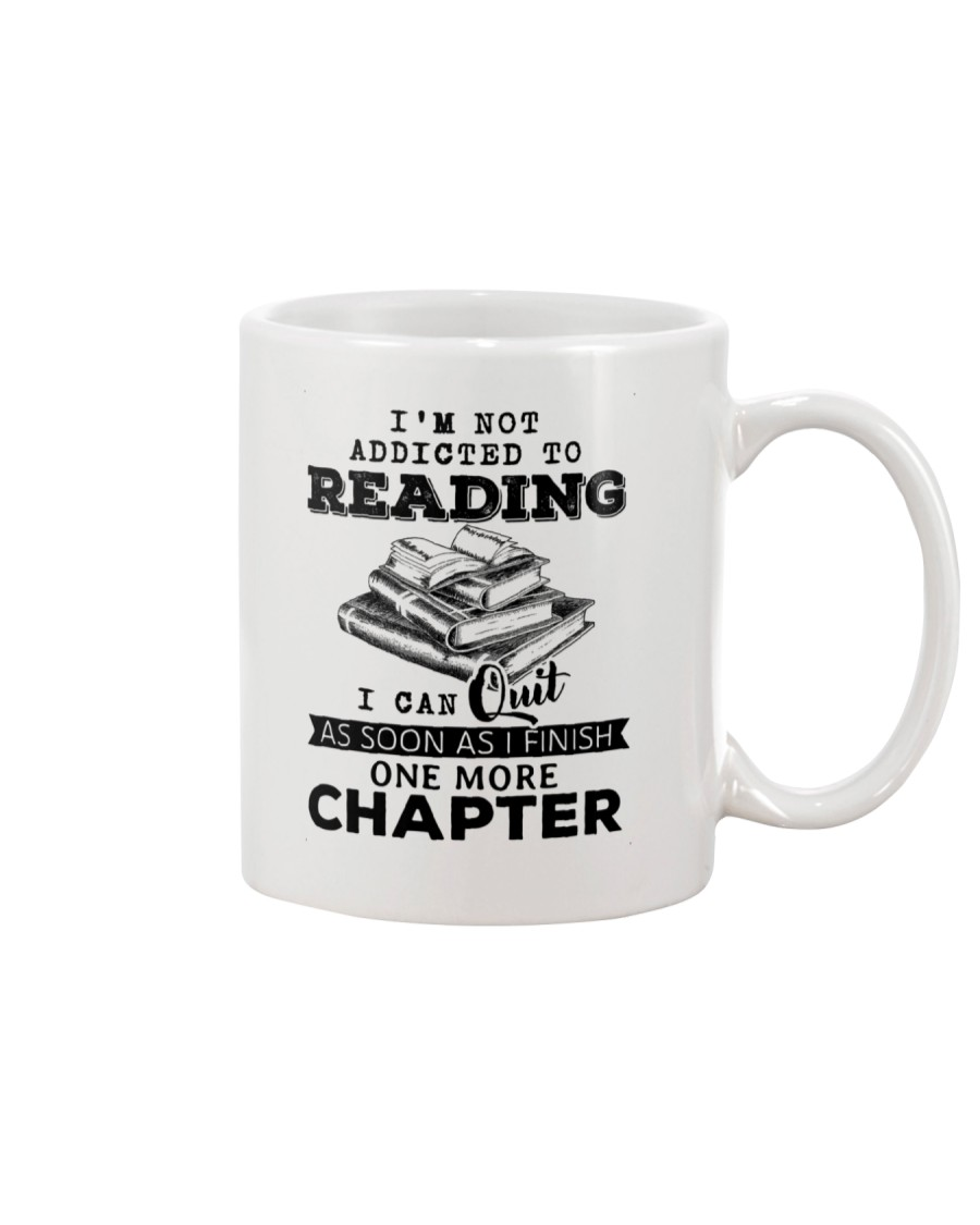 I Can Quit As Soon As I Finish One More Chapter Mug