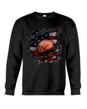 Basketball USA Flag Crewneck Sweatshirt thumbnail