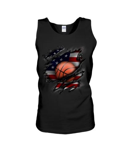 Basketball USA Flag