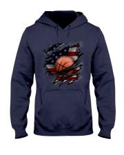 Basketball USA Flag Hooded Sweatshirt thumbnail