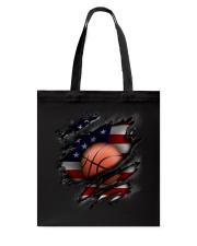 Basketball USA Flag Tote Bag thumbnail