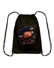 Basketball USA Flag Drawstring Bag thumbnail