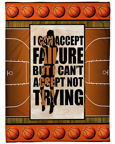 Basketball Funny Can Accept Failure Graphic Design