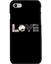 Tennis Love Flower Phone Case thumbnail