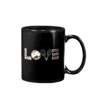 Tennis Love Flower Mug thumbnail