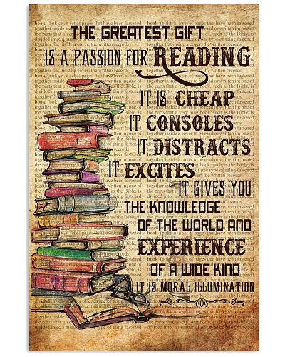 Books The Great Gift Is A Passion