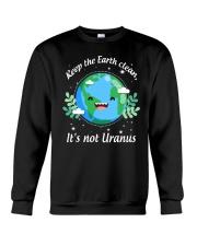 Keep The Earth Clean  Crewneck Sweatshirt thumbnail