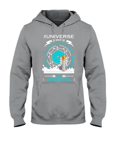 Universe is made of