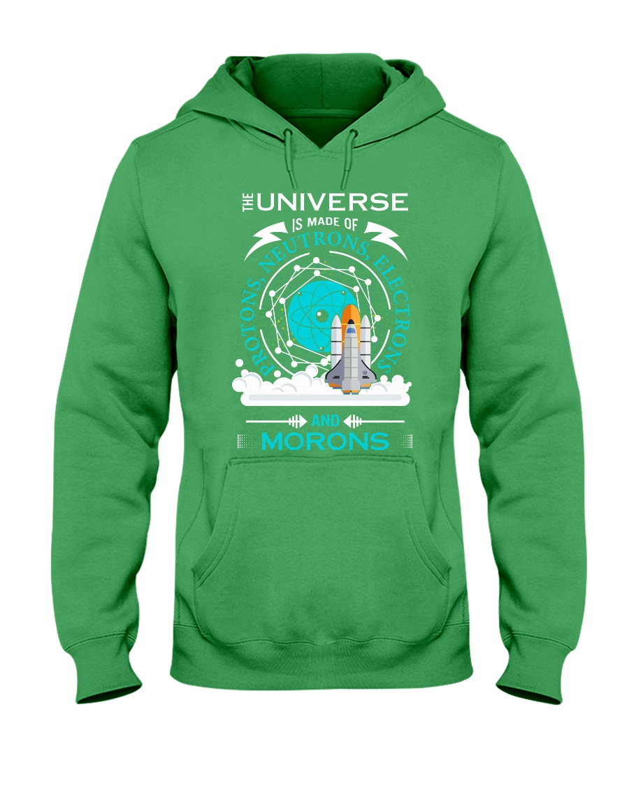 Universe is made of Hooded Sweatshirt