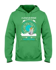 Universe is made of Hooded Sweatshirt front