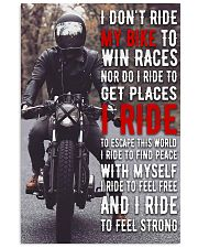 Motorcycle Feeling Strong 24x36 Poster front