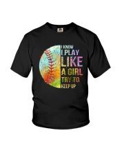 I Know I Play Soft Like A Girl Youth T-Shirt thumbnail