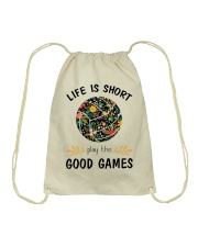 Play Volleyballs Drawstring Bag thumbnail