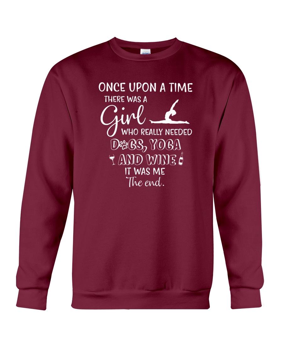 Yoga- One Upon A Time Crewneck Sweatshirt