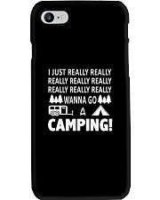 I Just Really Wanna Go Camping Phone Case thumbnail