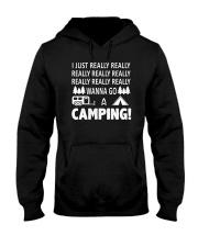 I Just Really Wanna Go Camping Hooded Sweatshirt thumbnail