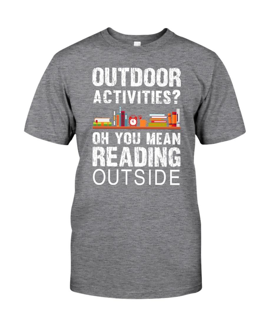 Book Outdoor Activities Classic T-Shirt